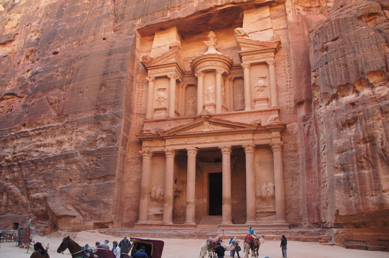 LF Jordanië Petra